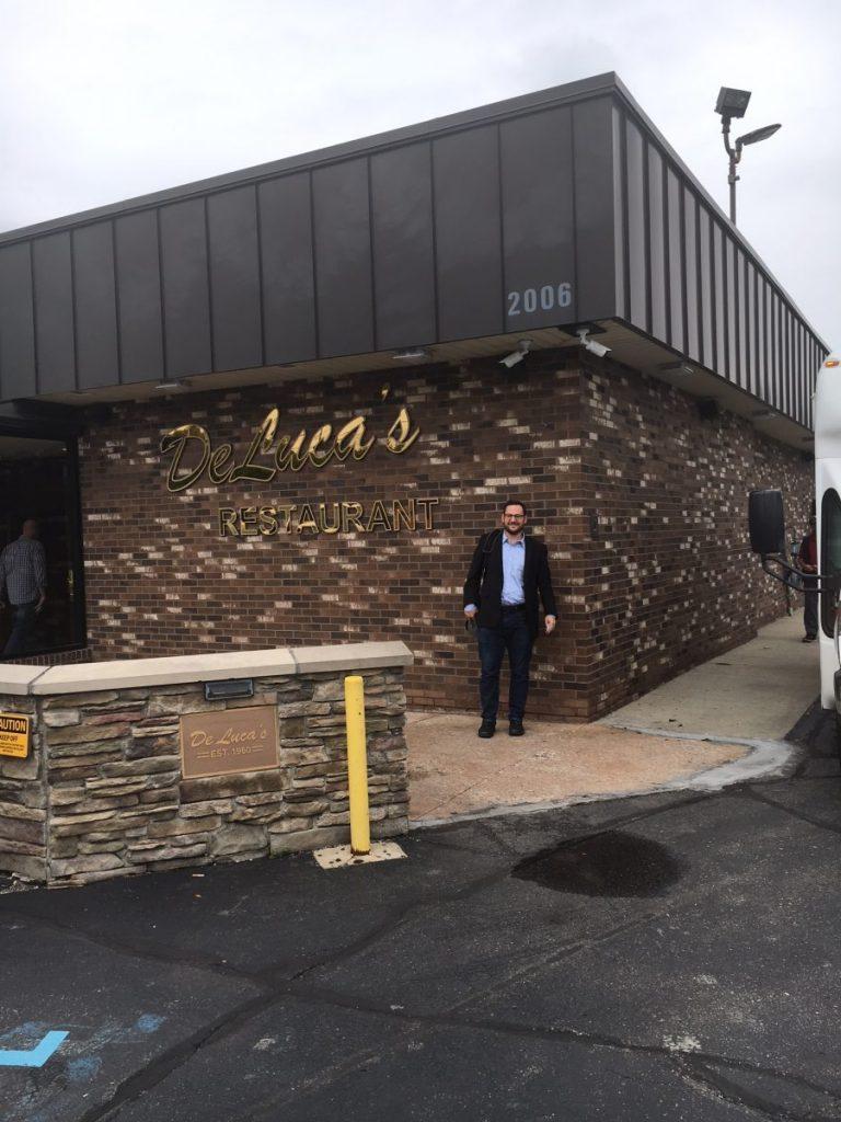 Matt visits DeLucas