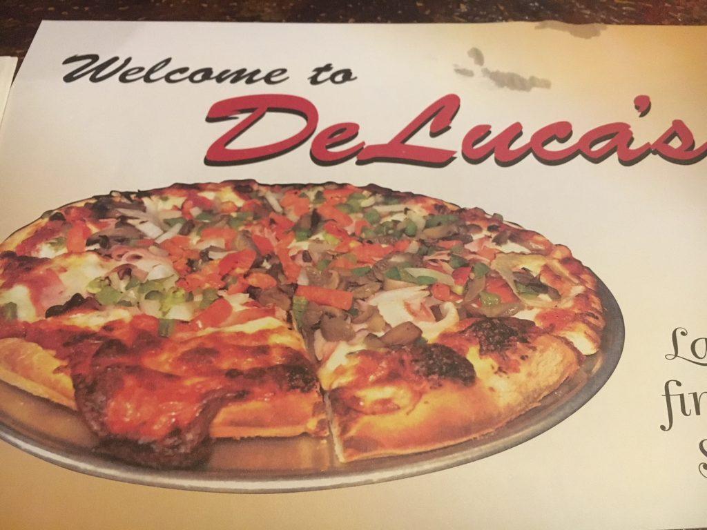 DeLuca's tablemat